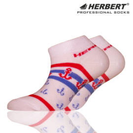 Herbert gyerek titokzokni csíkos vasmacska mintával