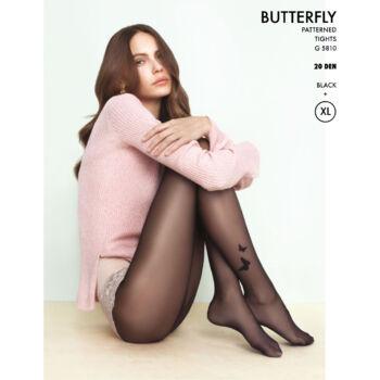 20 den Fiore G 5810 Butterfly mintás harisnyanadrág 7af3b17b2f