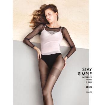 20 den Fiore G 5813 Stay Simple mintás harisnyanadrág f5bb7ad87c