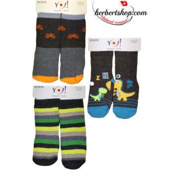 SKF-SILK frottír szilikonos baby zokni