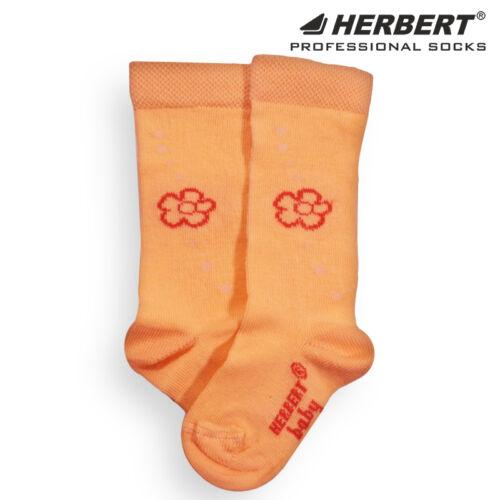 Herbert bébi virág mintás térdzokni