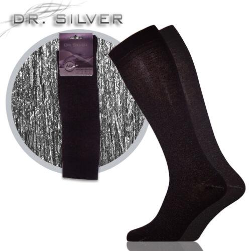 Dr.Silver térd ezüst zokni