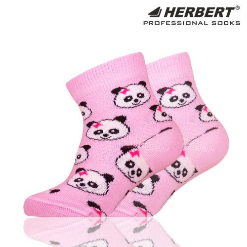 Herbert bébi bokazokni pandafejes mintázattal