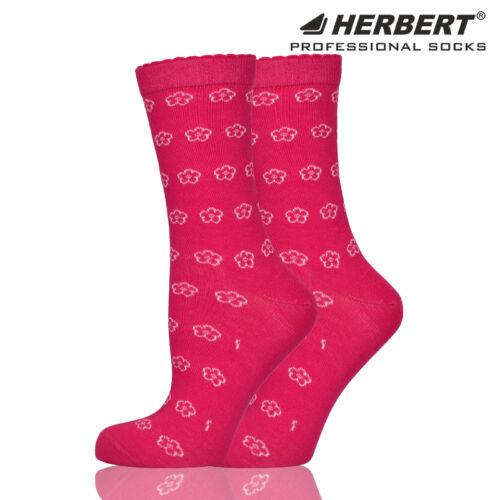 Herbert felnőtt virág mintás bokazokni