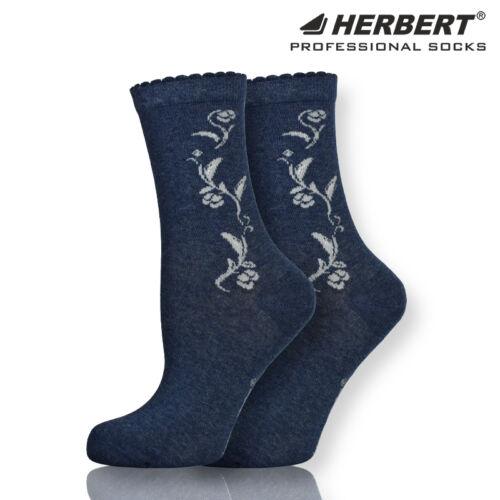 Herbert felnőtt női bokazokni csillogó virág motívummal