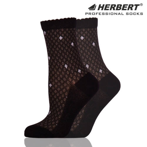 Herbert felnőtt bokazokni apró rombusz mintázattal
