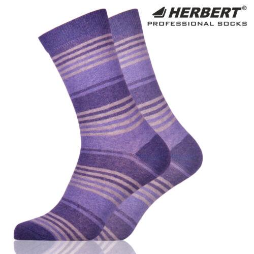 Herbert felnőtt bokazokni farmerkék csíkozással
