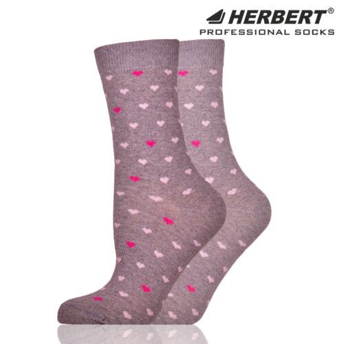 Herbert felnőtt bokazokni apró szívecske mintázattal