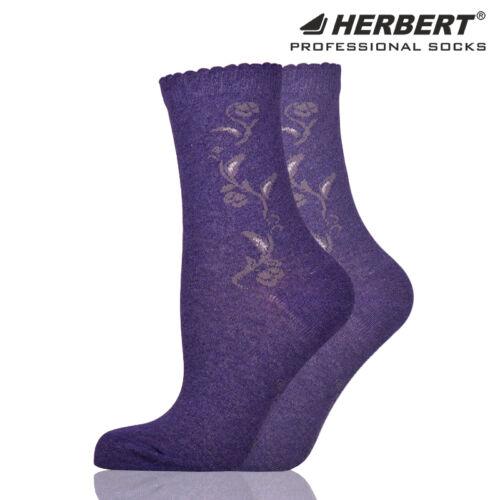 Herbert felnőtt bokazokni csillogó virág motívummal