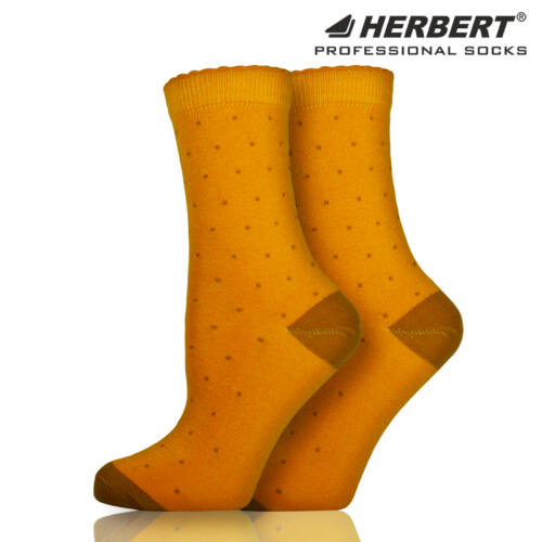 Herbert felnőtt apró pöttyös bokazokni
