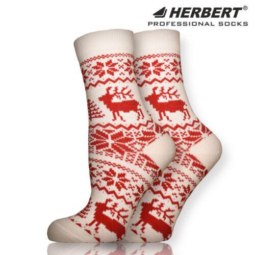 Herbert felnőtt norvég mintás bokazokni