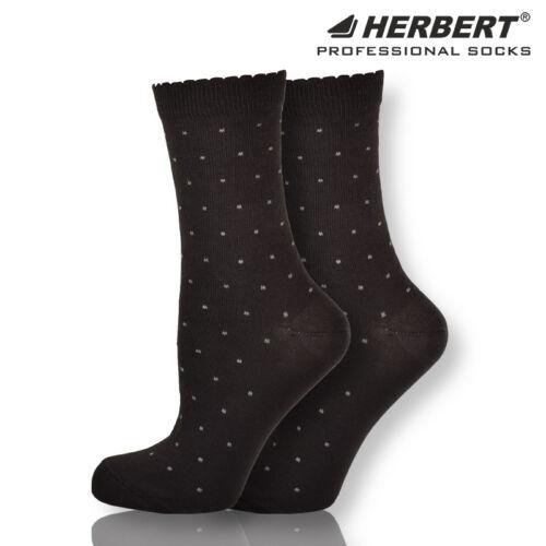 Herbert felnőtt pöttyös mintás bokazokni