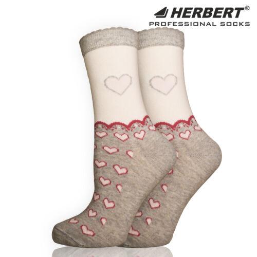 Herbert felnőtt szívecske mintás bokazokni