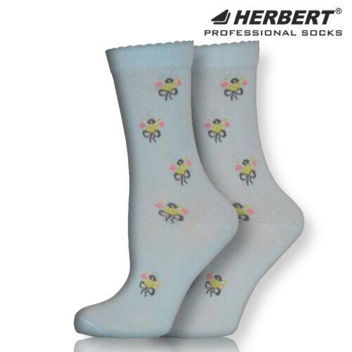 Herbert felnőtt apró virágcsokor mintás bokazokni