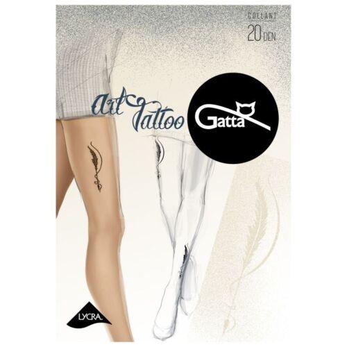 20 den Art tattoo04 mintás harisnyanadrág