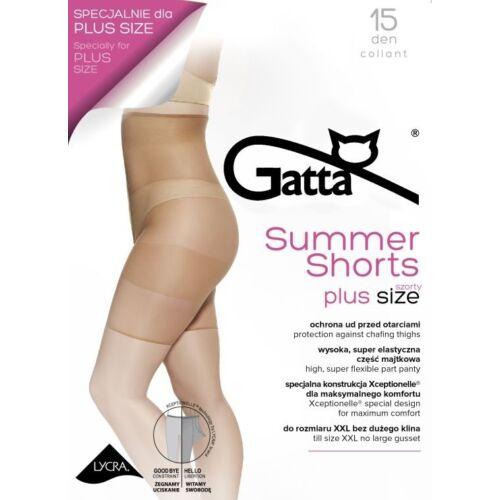 15 den Gatta Summer Shorts plus size alakformáló short