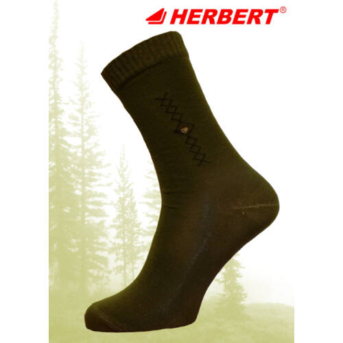 Herbert pamut vadász öltönyzokni