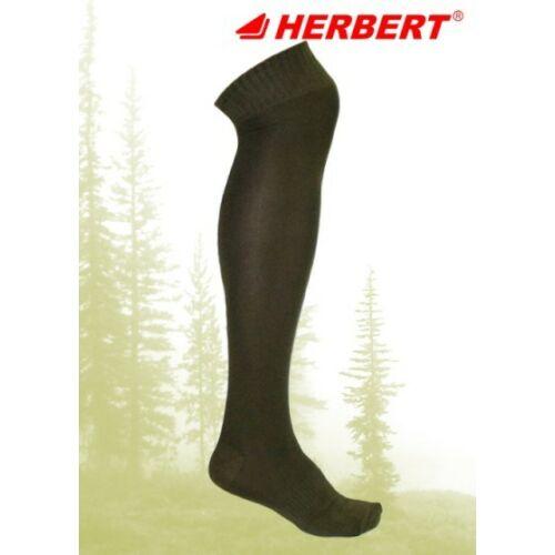 Herbert erősített vadász térd feletti zokni