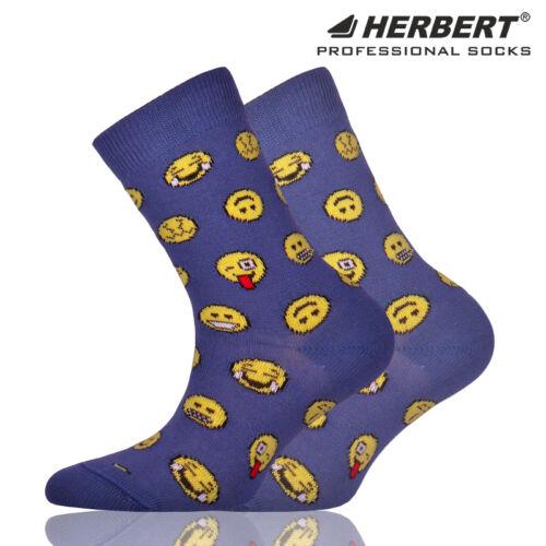 Herbert gyerek bokazokni emoji mintával