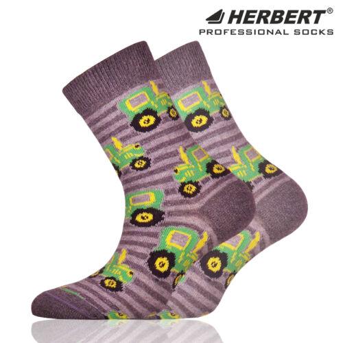 Herbert gyerek bokazokni traktor mintával