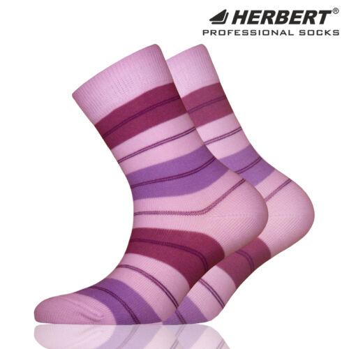 Herbert gyerek bokazokni vékony lila csíkozással
