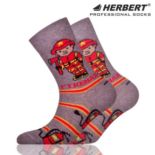 Herbert gyerek bokazokni tűzoltó mintával
