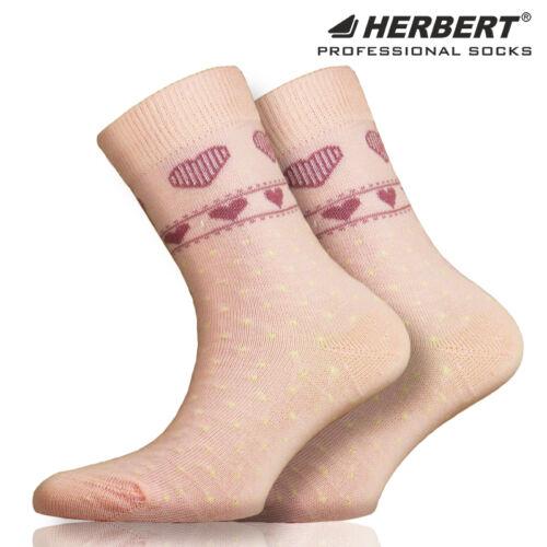Herbert pöttyös gyerek bokazokni szivecske mintával