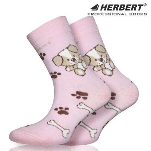Herbert kutyus mintás gyerek bokazokni