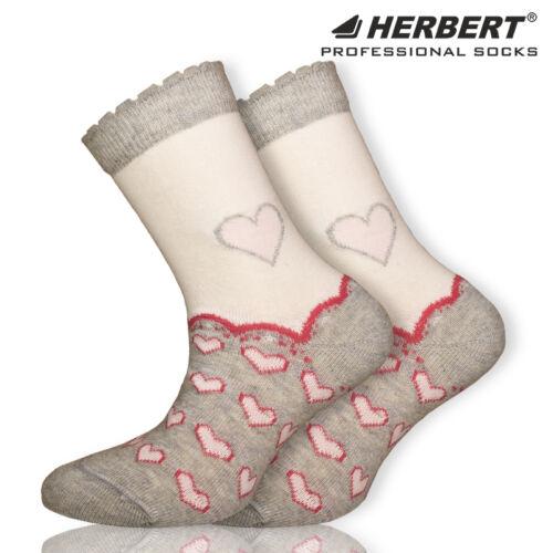 Herbert szívecske mintás gyerek bokazokni kislányoknak
