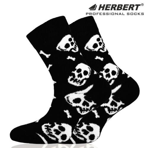 Herbert koponya mintás gyerek bokazokni