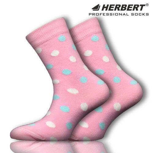 Herbert nagy pötty mintás gyerek bokazokni