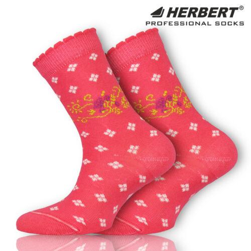 Herbert virágos inda mintás gyerek bokazokni