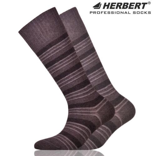 Herbert gyerek térdzokni szürke csíkozással