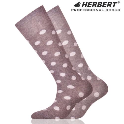 Herbert gyerek térdzokni nagy fehér pöttyökkel