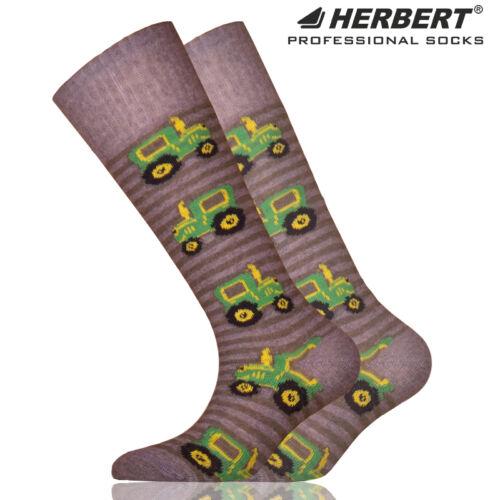 Herbert gyerek térdzokni traktor mintával