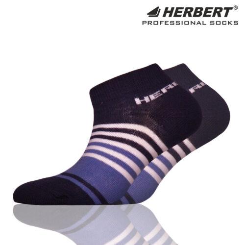 Herbert gyerek titokzokni sötétkék-fehér csíkozással