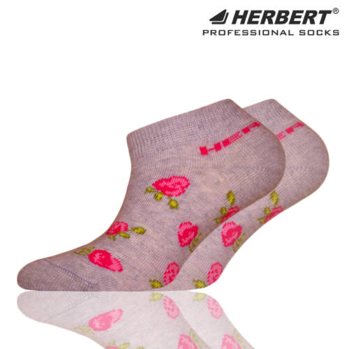 Herbert gyerek titokzokni rózsás mintázattal
