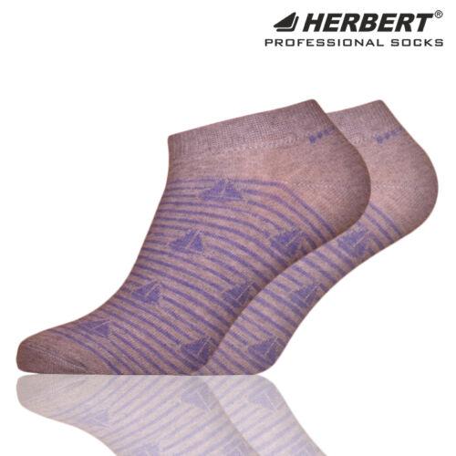 Herbert felnőtt titokzokni csíkos vitorlás mintázattal