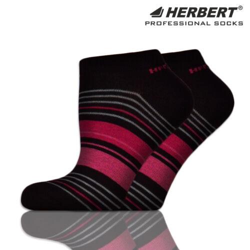 Herbert felnőtt titokzokni sötétkék-pink csíkozással