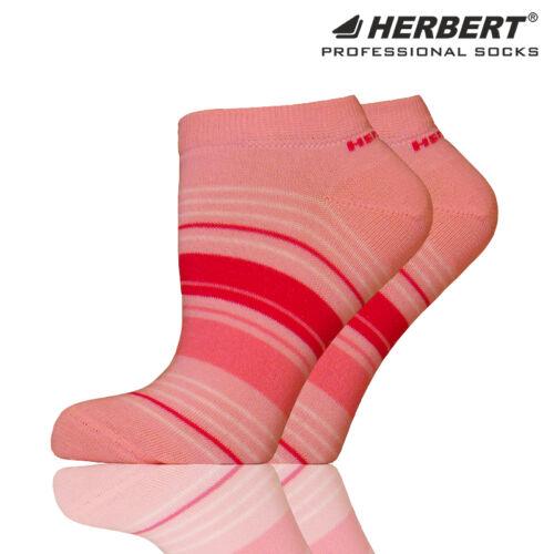 Herbert felnőtt titokzokni rózsaszín-pink csíkozással