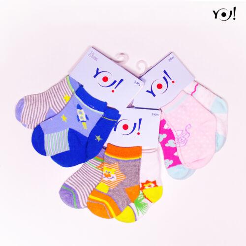 SKC 3pak Baby zokni