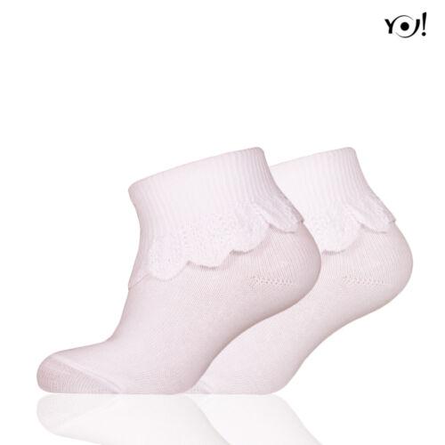 SKFA MOD 11 csipkés bébi zokni