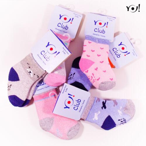 SKF- frottír bébi zokni
