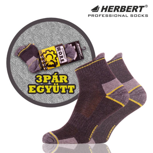 Herbert Work alacsony szárú munkavédelmi zokni