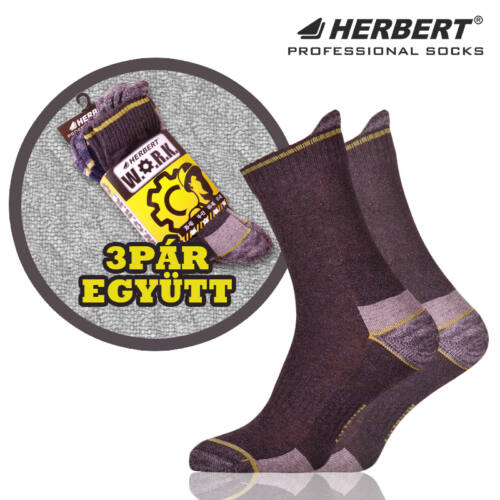 Herbert Work normál szárú munkavédelmi zokni