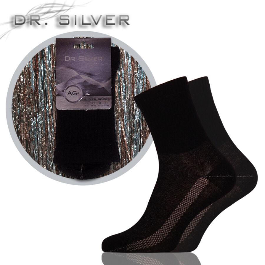 Dr.Silver Medical ezüst zokni