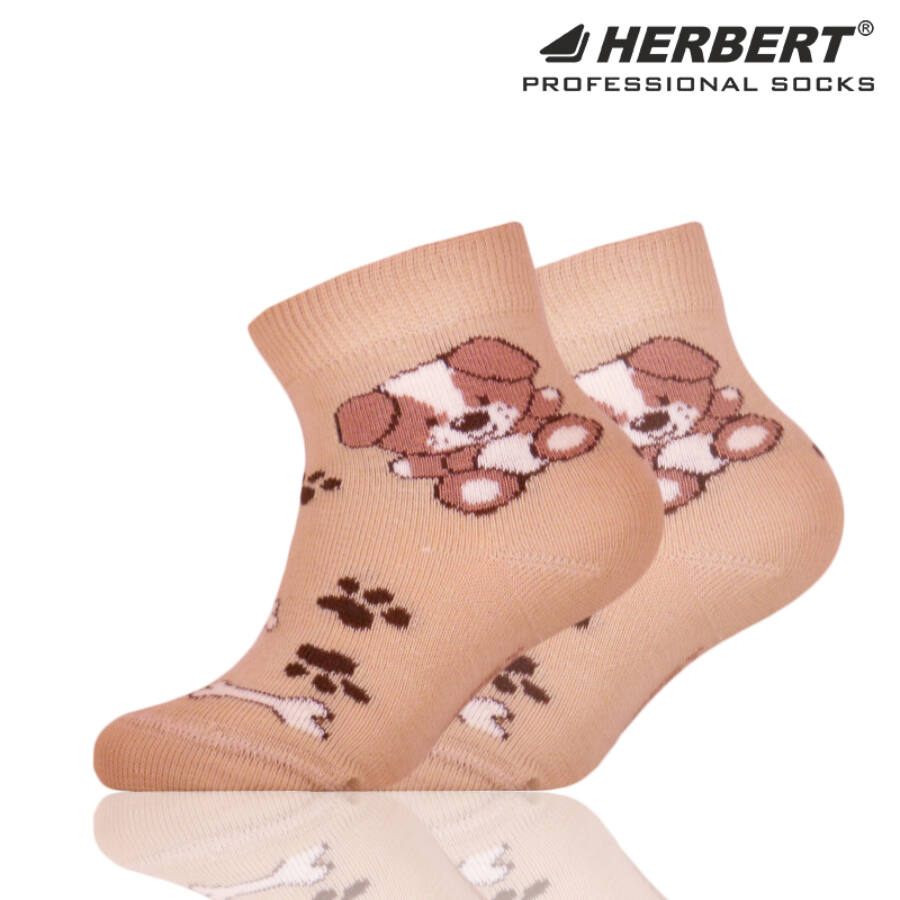 Herbert bébi bokazokni kutyusos tappancsos mintával