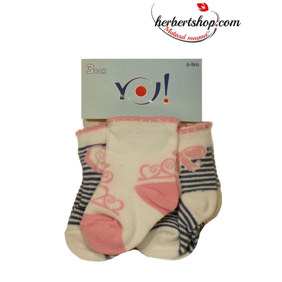 SKC 3pak Baby zokni - BÉBI BOKA ZOKNI - HERBERTSHOP.COM ... 0ead827058